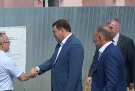 Визит Губернатора Свердловской области в Ирбит